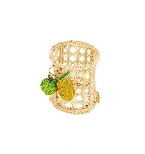 Raffia Lemon & Lime Napkin Ring