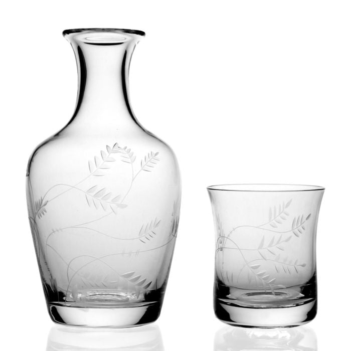 William Yeoward Crystal Wisteria Carafe and Tumbler