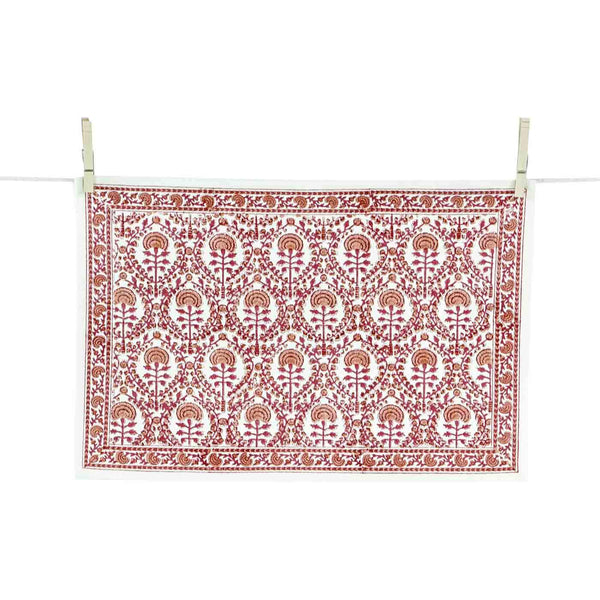 Caroline Red Placemats