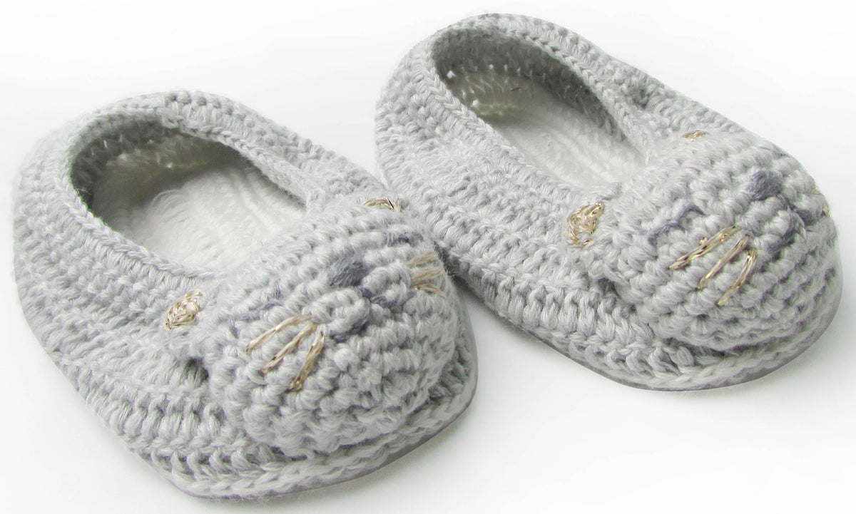 Albetta Crochet Cat Booties