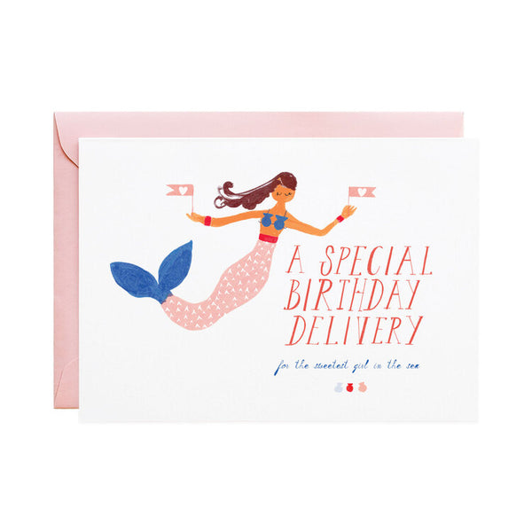 "Birthday - Mermaid's Birthday ""A Special Birthday Delivery"""