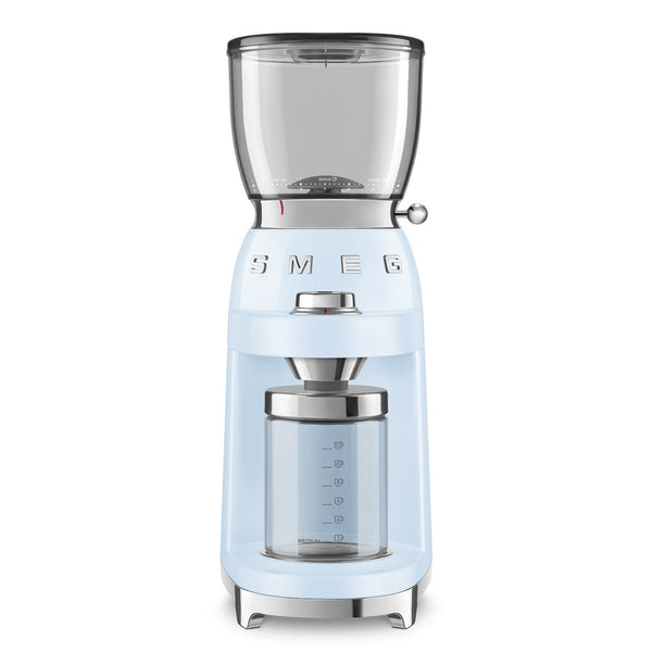 SMEG Coffee Grinder, Pastel Blue