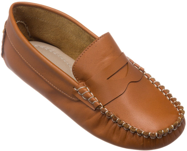 Children's Logan Leather Moccasin