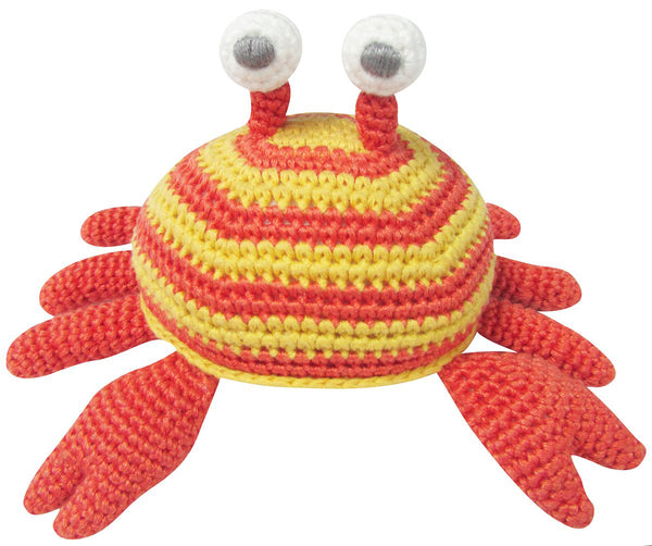 Albetta Crochet Crab Rattle