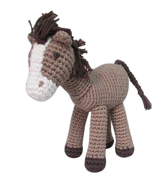 Crochet Horse Rattle Doll