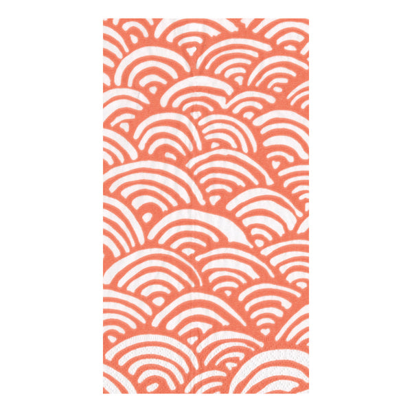 Lulu's Rainbow Coral Guest Towels