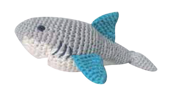 Crochet Shark Rattle