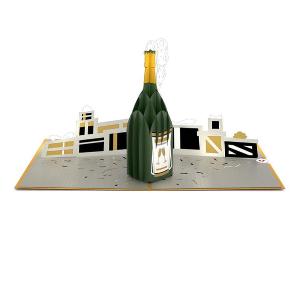 Pop Up Card, Champagne Celebration