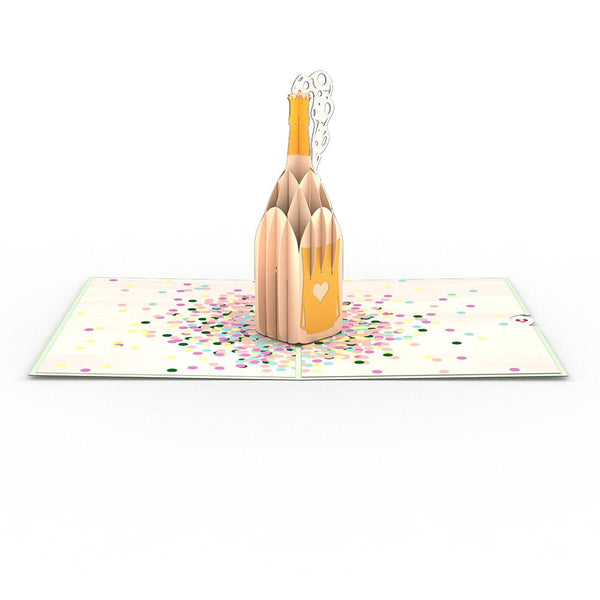 Pop Up Card, Champagne Pop