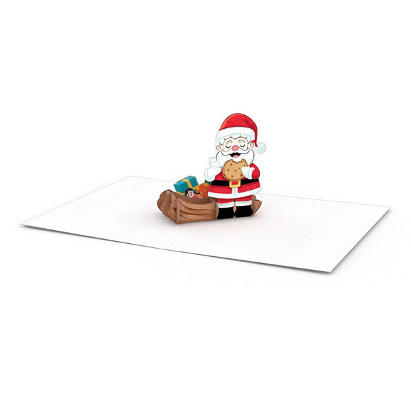 Pop Up Santa Notecard, Set/4
