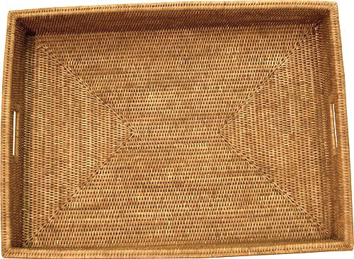 Rectangular Tray Antique Brown