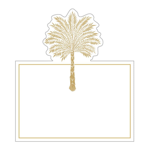 Grand Palms Foil Place Cards