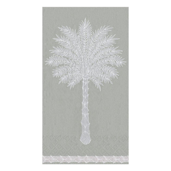 Grand Palms Grey Guest Towels