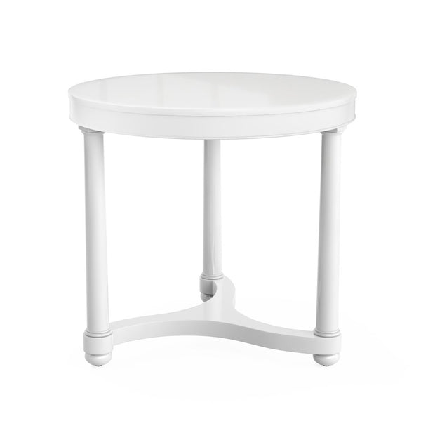 Bunny Williams Gwendolen Side Table in White