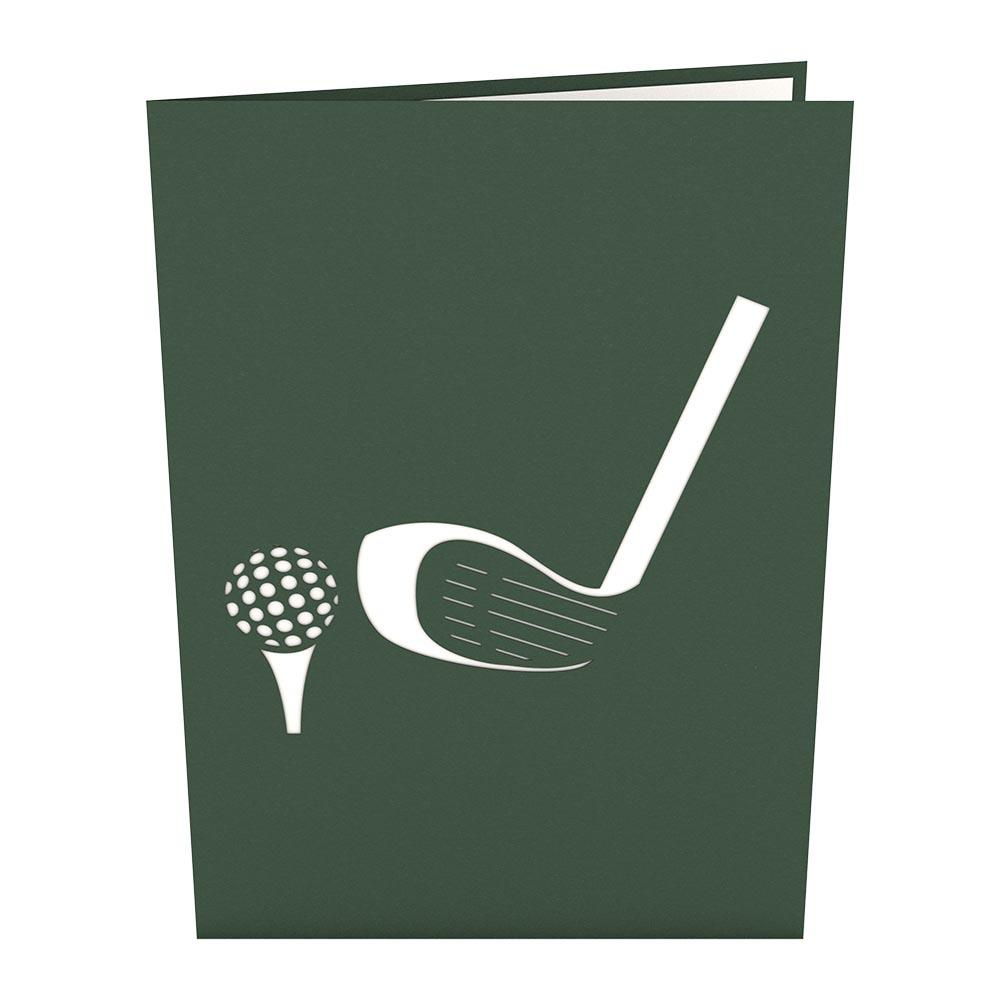 Pop Up Card, Golf