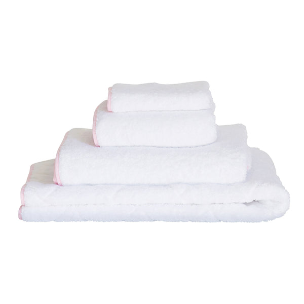 Petal Pink Bath Towel Collection