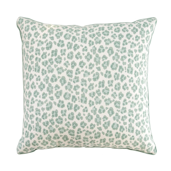 Seaglass Leopard Pillow