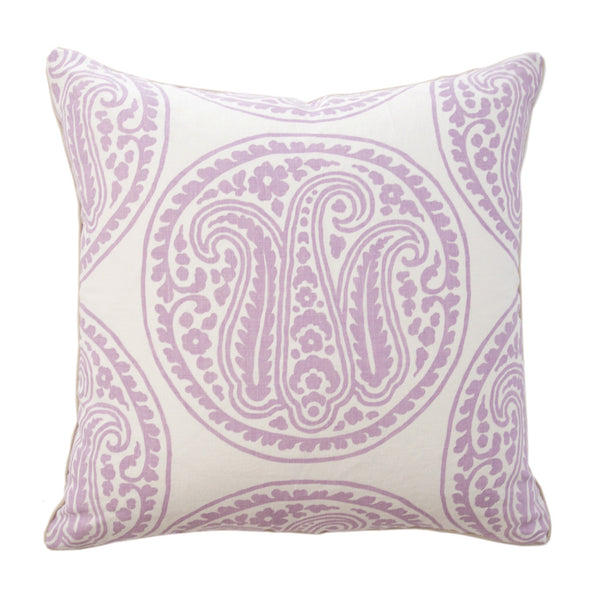 Lilac Medallion Pillow