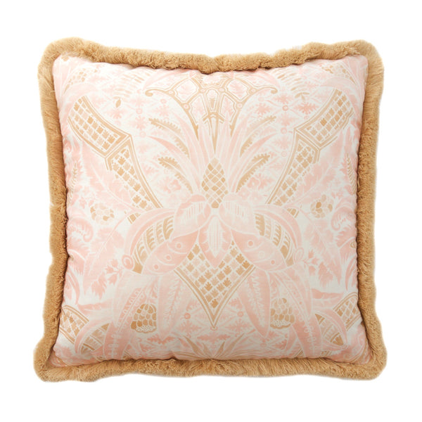 Blush Pineapple Motif Pillow