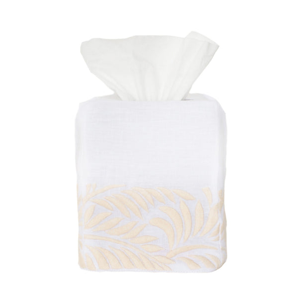 Cream Biltmore Tissue Box Cover