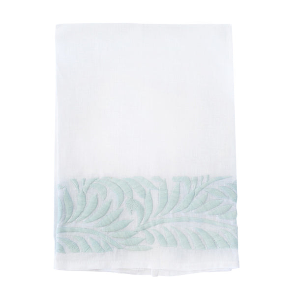 Ice Blue Biltmore Tip Towel