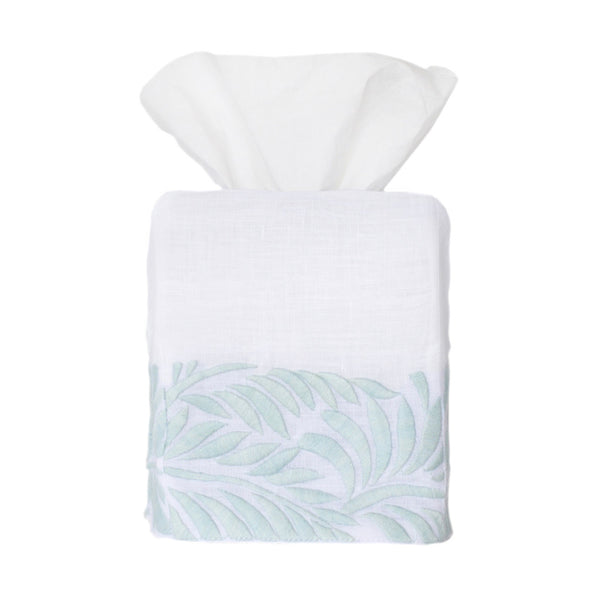 Ice Blue Biltmore Tissue Box Cover