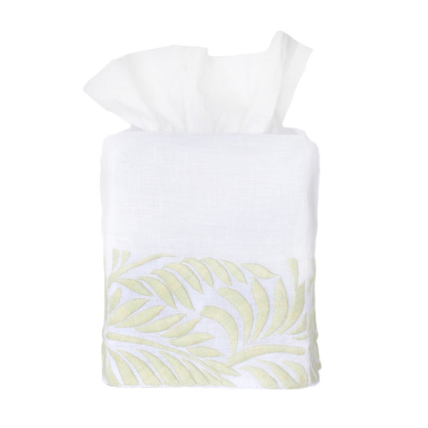 Ice Green Biltmore Tissue Box Cover