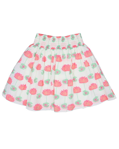 Almirah Girl's Printed Skirt