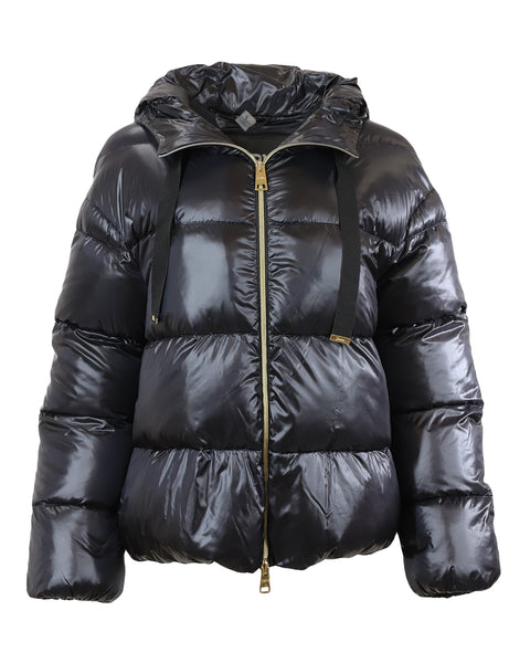 Herno Quilted Down Nylon Zip Jacket