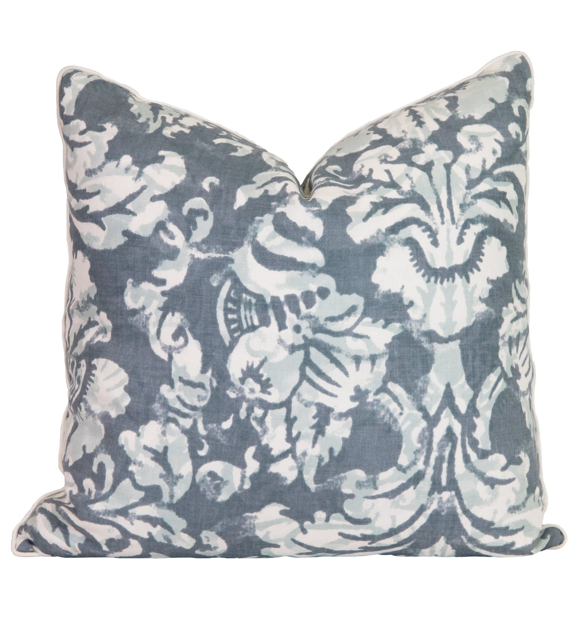 Wedgewood Floral Linen Pillow