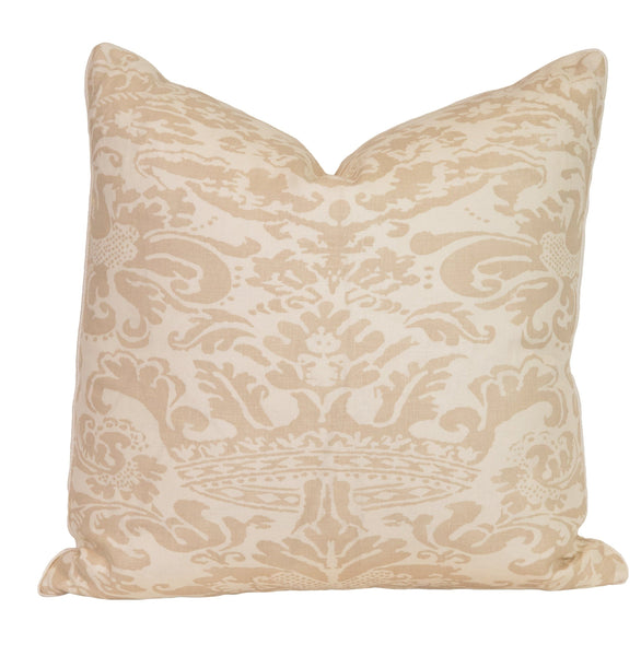 Bromonte Taupe Linen Pillow