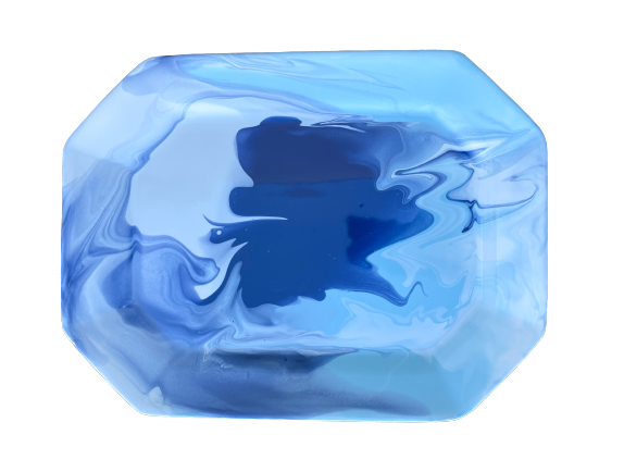 Paul Schneider Blue Geode Tray