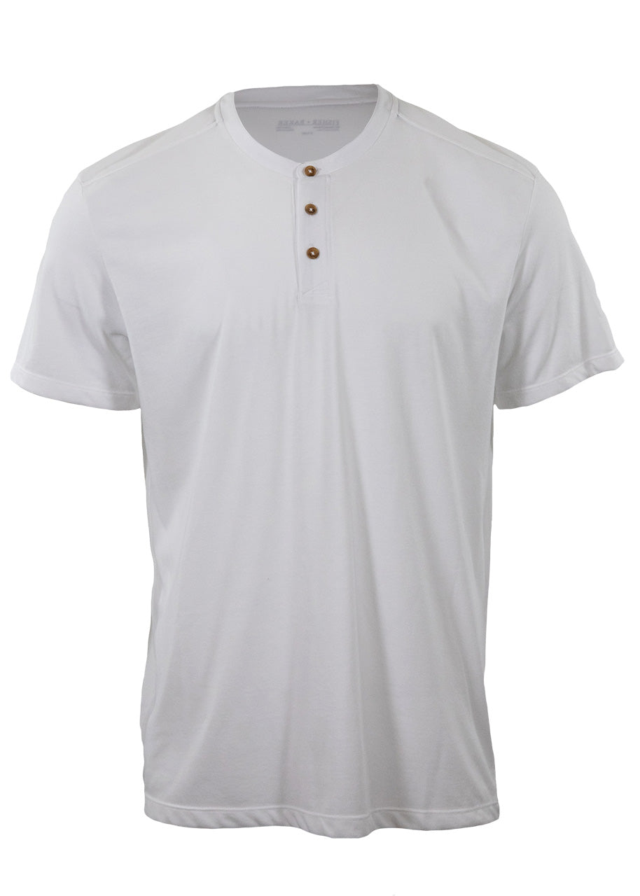 Fisher + Baker Men's Parker Henley