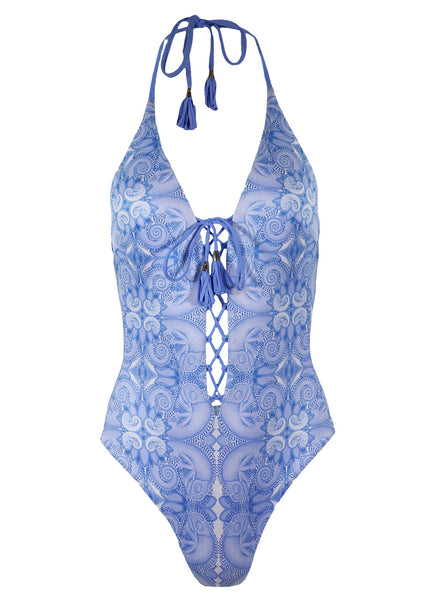 Paolita Bahari Reversible One Piece, Blue