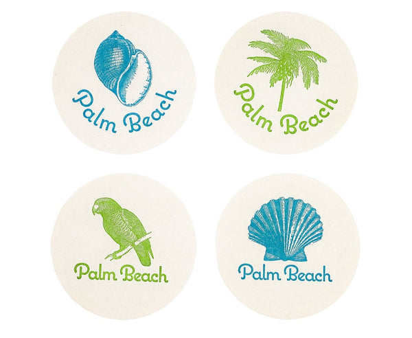 Coasters - Palm Beach