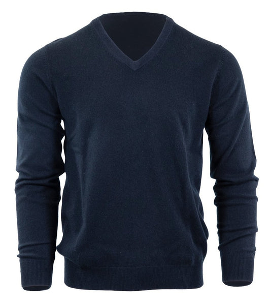 HIVE Cashmere Men's V-Neck Sweater