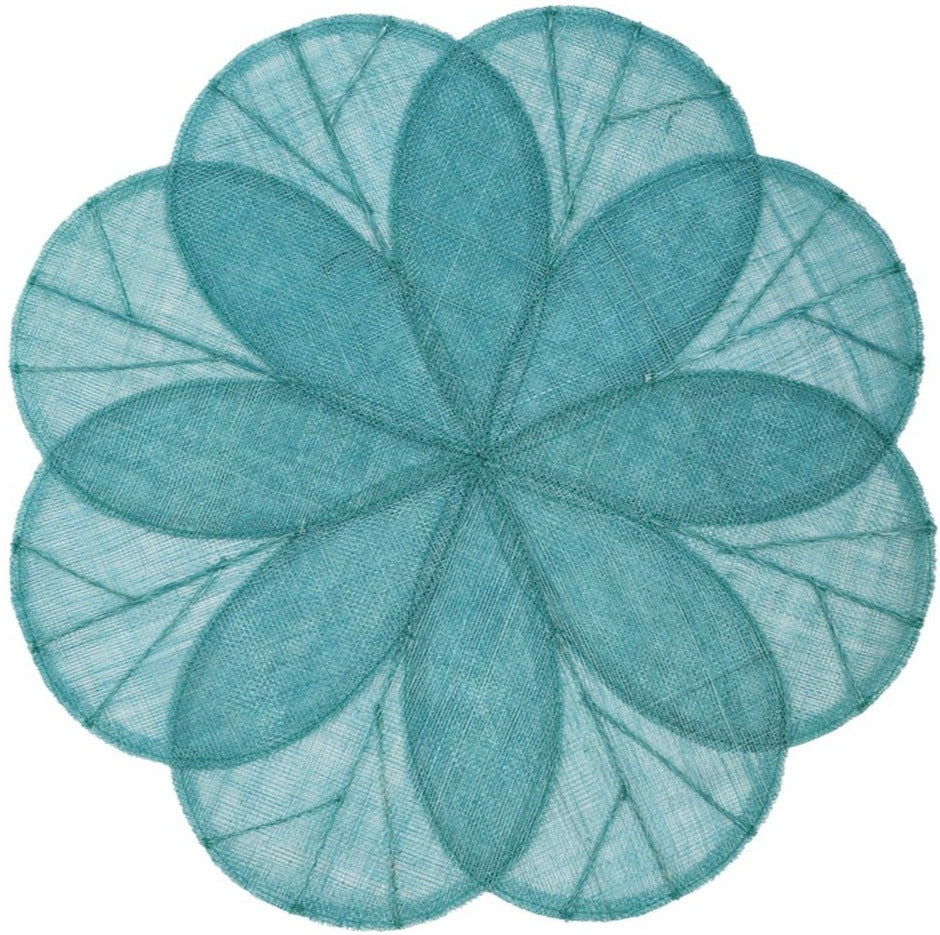 Sinamay Flower Placemats