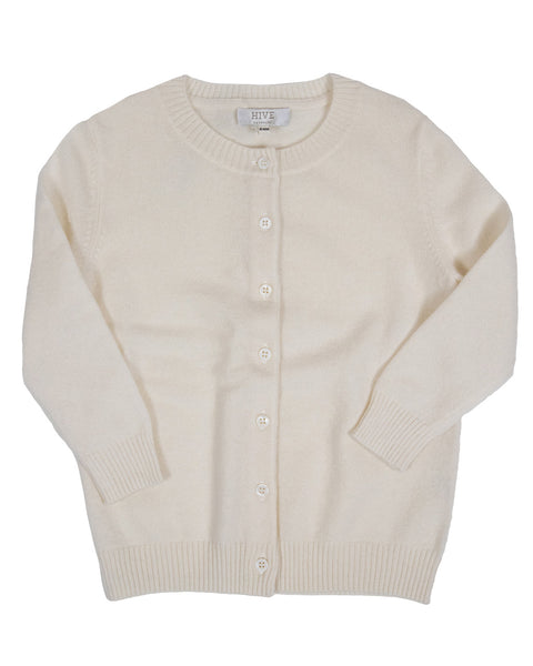 HIVE Cashmere Children's Button Up Cardigan