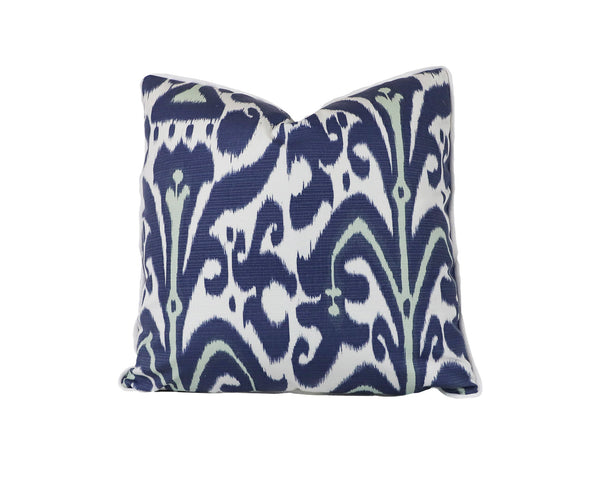 Outdoor Belfour Indigo Pillow
