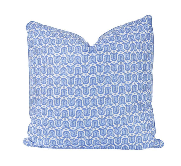 Tulipes de Marche Seersucker Pillow