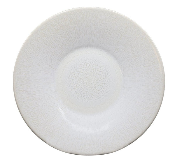 Jars France White Pearl Dinner Plate