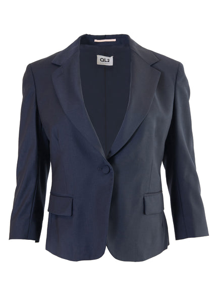 QL2 Beata School Boy Jacket in Navy