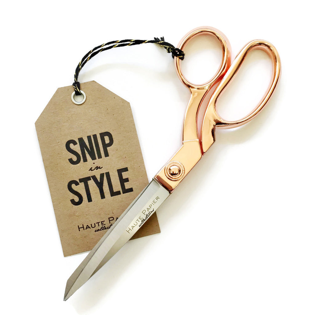 Rose Gold Scissors