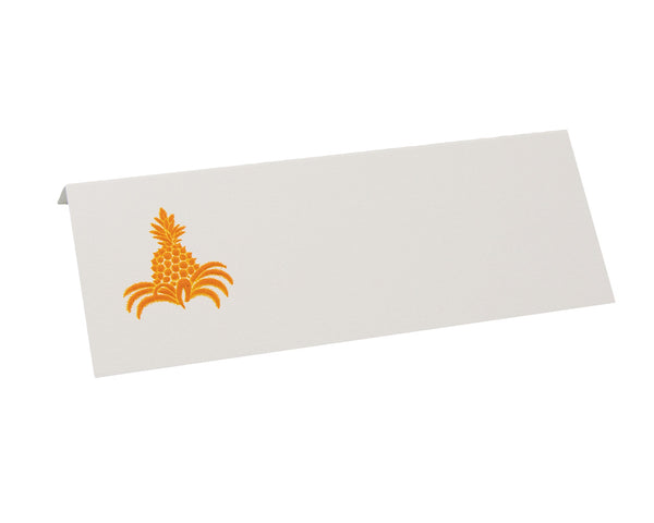 Orange Pineapple Place Card