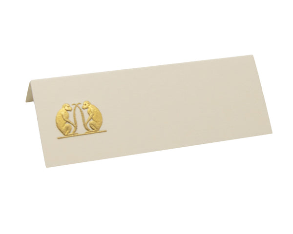 Double Monkeys Place Cards