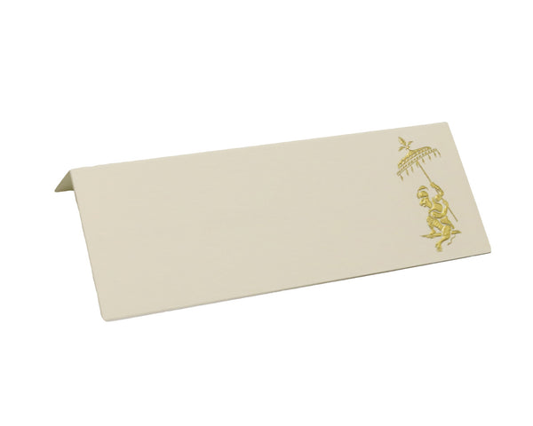 Gold Monkey Placecards