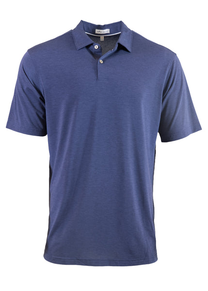 Peter Millar Drirelease Natural Touch Melange Polo