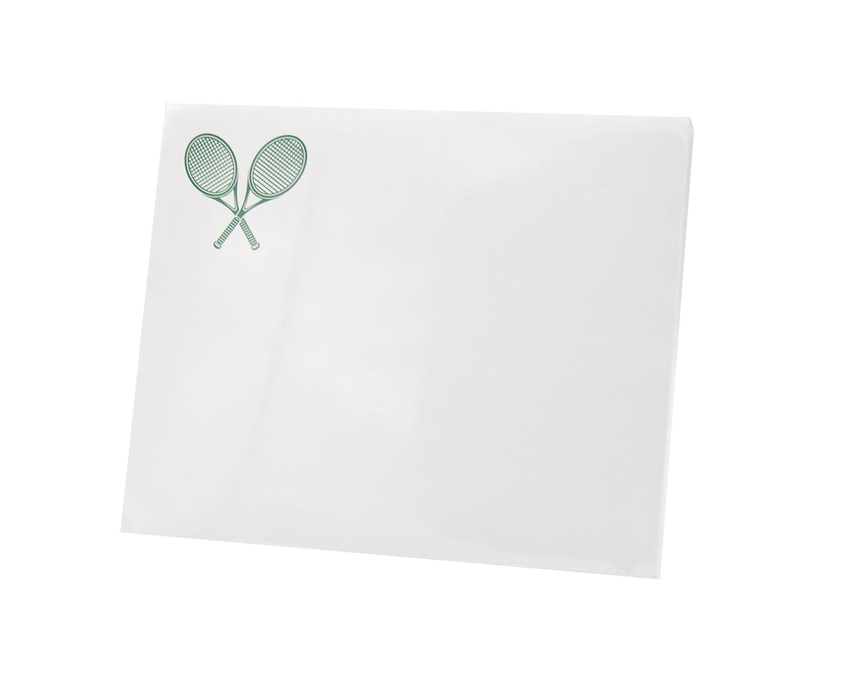 Tennis Large Notepad
