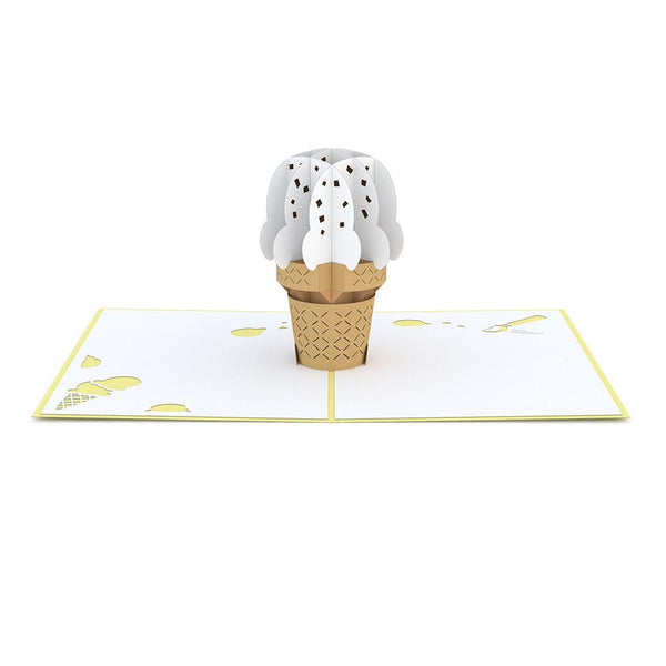Pop Up Card, Vanilla Ice Cream