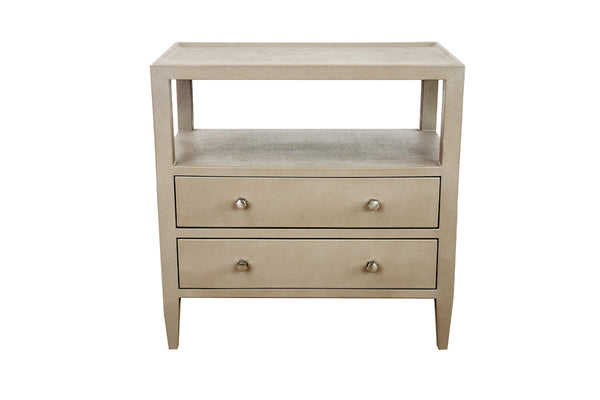 Jarin Double Nightstand in Light Gray